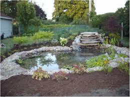 backyards splendid backyard pond waterfalls modern backyard