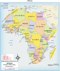 Africa Religion Map by Regional Expert