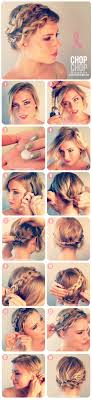 how to braid short hair step by step 16 best hairstyle tutorials for short hair from pinterest
