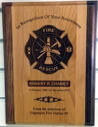 retirement plaque plaques