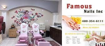 our services nail salon mesa nail salon 85207 famous nails inc