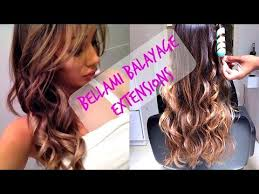 balayage hair extensions bellami balayage hair extensions update