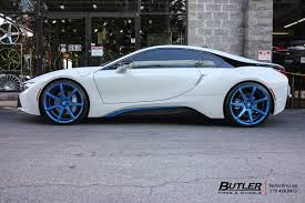 Bmw I8 Exhaust - bmw i8 with 22in savini bm10 wheels exclusively from butler tires
