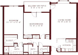 2 bedroom 2 bath floor plans large two bedroom apartments for seniors at riddle village