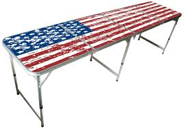 8 Ft Table Dimensions by Beer Pong Table Dimensions Home Inspiration