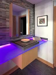 Badezimmer Ideen Bilder Led Leisten Badezimmer Waschtisch Lila Beleuchtung Youtube