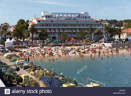 hotel baia cascais portygal stock photo royalty free image