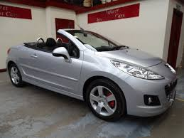 peugeot 2 door sports car used peugeot 207 convertible for sale motors co uk