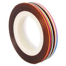 amazon com 30pcs mixed colors rolls striping tape line nail art