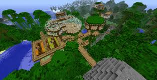 Minecraft Project Ideas Bear U0027s Jungle Base 1 4 Players Minecraft Project