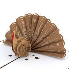 thanksgiving turkey 3d popup card lovepop