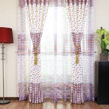 popular curtains popular polyester print white navy red star curtains