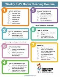 clean bedroom checklist cleaning checklist for kids rooms free printable