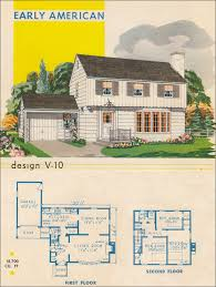 garrison house plans post wwii garrison colonial mcm design 1945 style trends