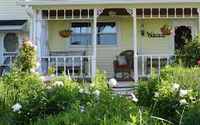 Chairs For Front Porch Exterior Extraordinary Image Of Front Porch Decoration With Black