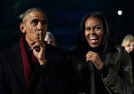 president obama lights his final white house christmas tree