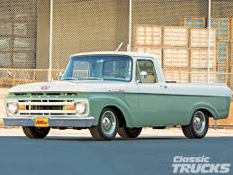 Vintage Ford Truck Advertisements - 1962 ford unibody rod network