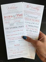 Custom Wedding Programs Wedding Programs Coral U0026 Grey Custom Wedding Program Design