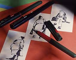 amazon com pentel arts pocket amazon com pentel pocket brush pen blk xgfkp fp10 a