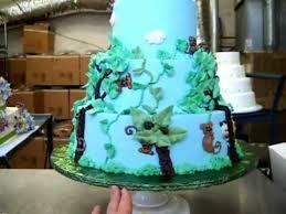 baby shower jungle cake youtube