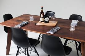 Walnut Dining Room Sets Bliss Walnut Dining Table Seats 6 U2014 Sean Woolsey