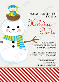 magnificent christmas potluck invitation template free