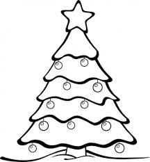 black and white christmas wallpaper christmas tree outline clip art hd wallpaper and download free