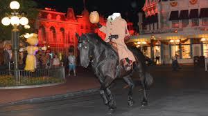 scary halloween party headless horseman multi angle ride at mickey u0027s not so scary