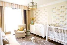 nursery accent table los angeles yellow striped curtains nursery transitional with