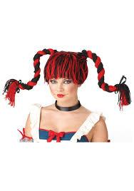 sassy rag doll wig