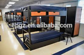 Bunk Beds For College Students College School Furniture Dormitory Student Deck Bed With