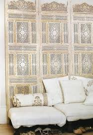 white wooden moroccan screens room dividers for headboard