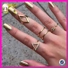 girls rings style images New style gold plated finger rings latest gold plated little jpg