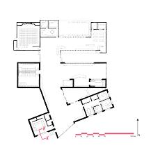 rehabilitation center floor plan wall section u2014 hannah lise simonson