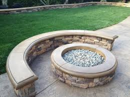 Firepit Seating Pit And Seating Area Traditional Patio Orange County