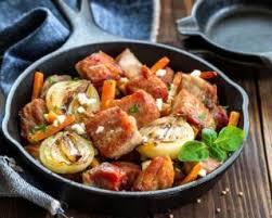 cuisine dietetique recette de poêlée de veau diététique aux légumes