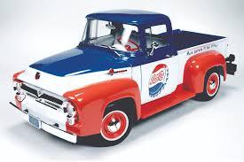 Classic Chevy Trucks 1956 - 1956 ford pick up f 100 pepsi round2