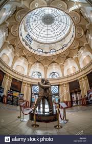 statue of eric morecambe and ernie wise by graham ibbeson in the