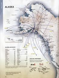 Route Maps by Alaska Airlines And Horizon Airlines Timetables Route Maps And