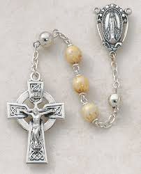 creed rosary creed sterling silver celtic connemara marble rosary
