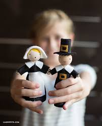 diy clothespin dolls thanksgiving craft lia griffith