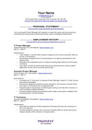 Sample Resume For Bookkeeper by Monster Resume Examples Cover Letter Template Resume Examples