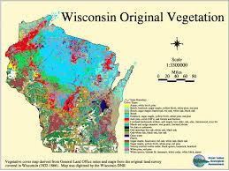 Wisconsin vegetaion images Wisconsin original vegetation gif