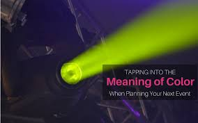 meaning of the color blue tapping into the meaning of color when planning your next event