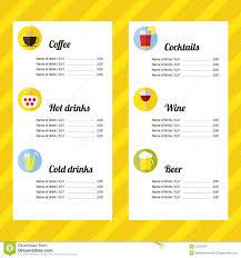 wedding drink menu template drink menu template carbon materialwitness co