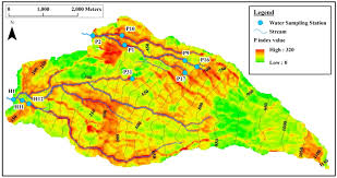 water free full text spatial model assessment of p transport