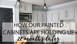painting kitchen cabinets using deglosser diy painted kitchen cabinets update designertrapped