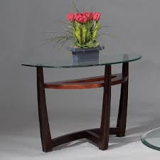 glass top sofa table glass and chrome console table very nice metal and glass console