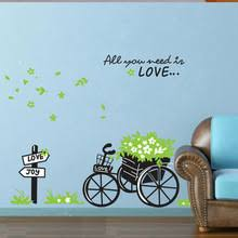 get cheap bicycle wall decal aliexpress alibaba