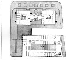 3 Storey Commercial Building Floor Plan Typical Office Floor Plan 1 Twin Tower Offices 2 Elevator Core 3